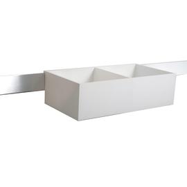 Porta oggetti Quadro bianco