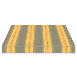 Tenda da sole a bracci Tempotest Parà 240 x 210 cm giallo/grigio/marrone Cod. 939/12