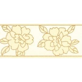 Bordo Fiore cm8 beige 5 m