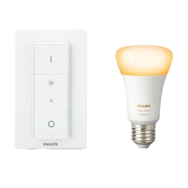 Lampadina smart LED Philips Hue E27 =60W goccia luce CCT 220°