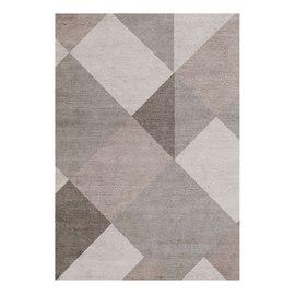 Tappeto Soave Soft marrone, beige, grigio 60 x 120 cm