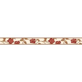 Bordo Fiore rosso 5 m