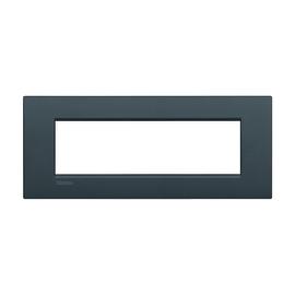 Placca 7 moduli BTicino Livinglight Air antracite