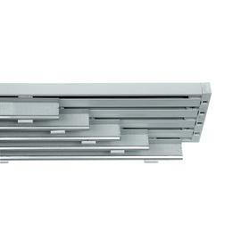 Binario pannello singolo 5 vie Cruiser bianco 280 cm