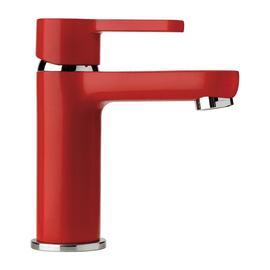 Miscelatore lavabo Colors rosso