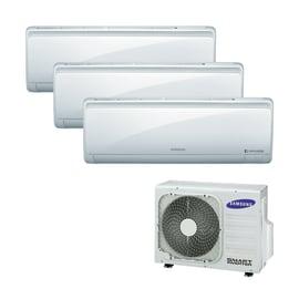 Climatizzatore fisso inverter trialsplit Samsung Quantum Maldives 2.5 + 2.5 + 3.5 kW