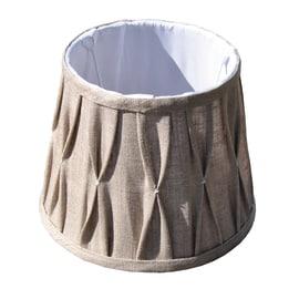 Paralume per lampada da comodino personalizzabile Plisse tortora