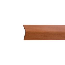 Paraspigolo PVC pellicolato ciliegio 3,5 x 30 x 3000 mm