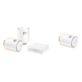 Kit per riscaldamento collettivo - relè + 3 valvole intelligenti per termosifoni Netatmo by Starck®