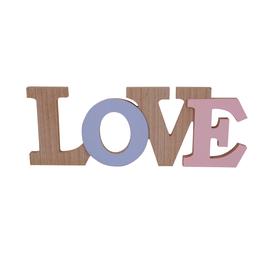 Scritta Love MDF 30x13
