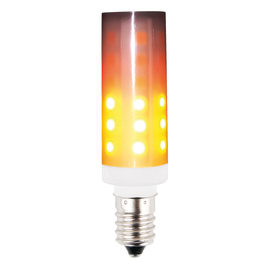 Lampadina decorativa LED E14 =3W arancio 360°