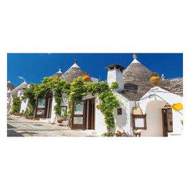 Fotomurale Alberobello 210 x 100 cm