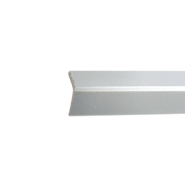 Paraspigolo PVC pellicolato alluminio 3,5 x 30 x 3000 mm