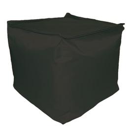 Cuscino pouf Idrorepellente nero 45 x 45 cm