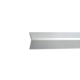 Paraspigolo PVC pellicolato alluminio 2,5 x 24 x 3000 mm