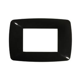 Placca 3 moduli FEB Flexì Brio nero