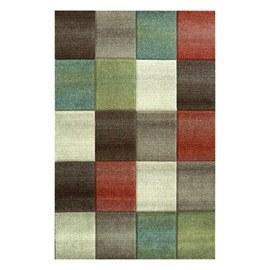 Tappeto Spring 7024 beige, rosso, verde, marrone 160 x 235 cm