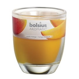 Candela cilindro ø 7 cm H 8 cm essenza mango