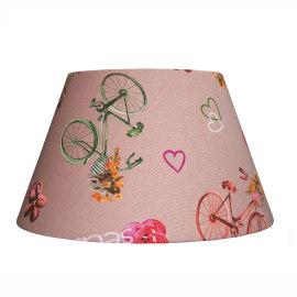 Paralume per lampada da comodino personalizzabile Impero bici nocciola beige