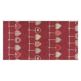 Tappetino cucina antiscivolo Deco cuore rosso 53 x 75 cm