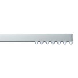 Binario a strappo singolo alluminio 200 - 200 cm