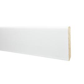 Battiscopa carta finish rivestito bianco 10 x 70 x 2200 mm