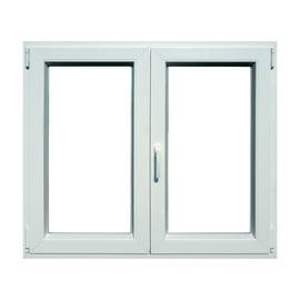 Finestra PVC bianco L 140 x H 120 cm