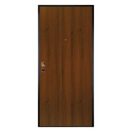 Porta blindata Alarm noce L 80 x H 200 cm dx