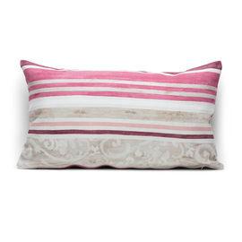 Fodera per cuscino Kilam rosa 30 x 50 cm