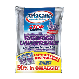 Assorbiumidità Ariasana ricarica universale lavanda 450 g