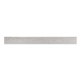 Battiscopa impiallacciato verniciato grigio 10 x 75 x 2400 mm