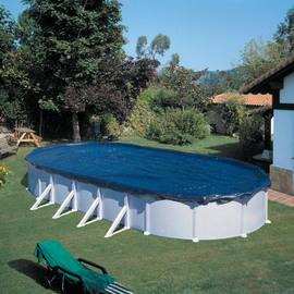 Copertura invernale per piscina 375 x 610 cm