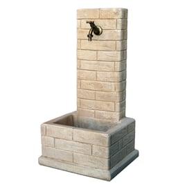 Fontana a colonna Bergamo nocciola