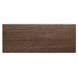 Battiscopa carta finish rivestito tabacco 10 x 80 x 2200 mm