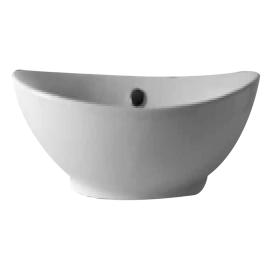 Lavabo da appoggio ovale L 55 x P 36 x H  17 cm