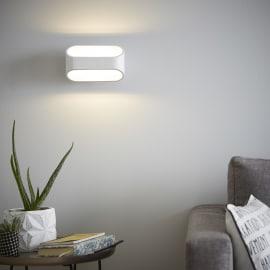 Applique LED integrato Koper bianco