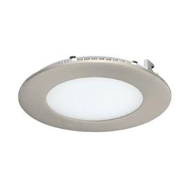 Faretto da incasso Extraflat nickel LED integrato fisso rotondo Ø 12 cm 6 W = 550 Lumen luce naturale