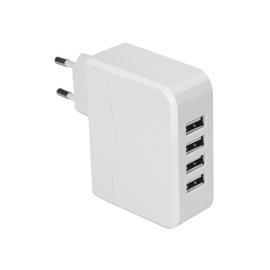 Adattatore 34011700 USB 10A, Isnatch bianco