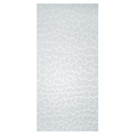 Tenda a lamelle verticali tinta unita bianco H 260 cm