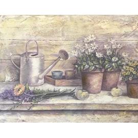 Quadro in legno Garden 35,5x45,5
