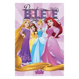 Poster Disney principesse 61 x 91,5 cm