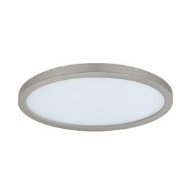 Faretto da incasso Kars nickel LED integrato fisso rotondo Ø 22,5 cm 24 W = 2300 Lumen luce naturale