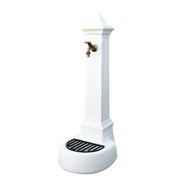 Fontana a colonna Comerio bianca