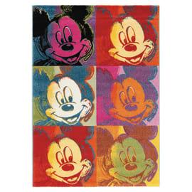 Tappeto Disney premium mickey patch multicolore 133 x 190 cm