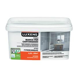 Fondo Luxens per cartongesso bianco 2,5 L