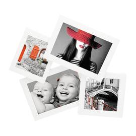 Portafoto multiplo Storty bianco 4 foto