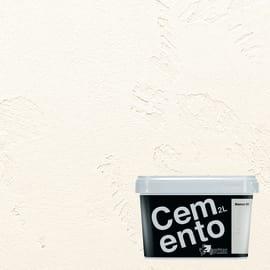 Pittura ad effetto decorativo Cemento Bianco 2 L