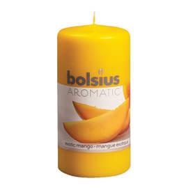 Moccolo cilindro ø 6 cm H 12 cm essenza mango