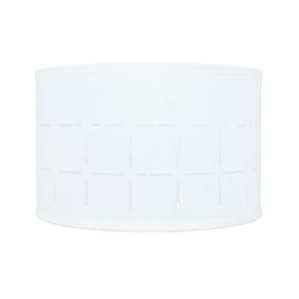 Paralume per lampada da tavolo personalizzabile Intagli bianco