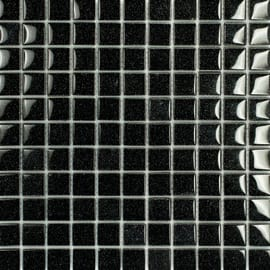 Mosaico Glitter 30 x 30 cm nero